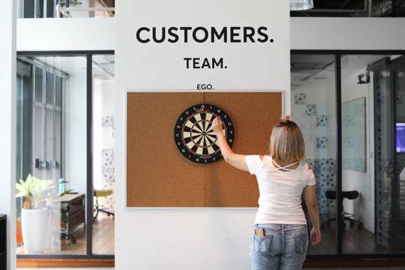 Customers, team, ego